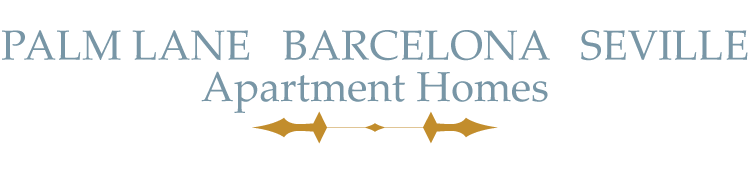 Barcelona, Palm Lane, Seville Apartment Homes logo
