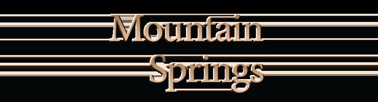 Mountain Spring Apartments Upland Ca